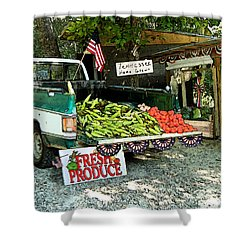 Tennessee Homegrown Shower Curtain