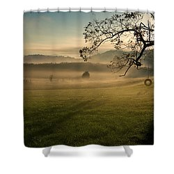 Tennessee Landscape Shower Curtain by Melinda Fawver