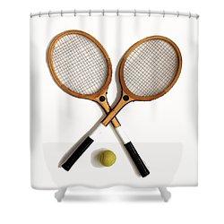 Tennis Sports Shower Curtain