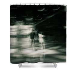 Shower Curtain featuring the photograph Tension by Alex Lapidus