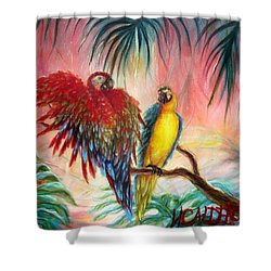 Tequila Y Rosita Shower Curtain