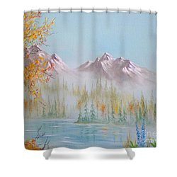 Termination Dust Shower Curtain