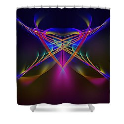 Terrestrial Butterfly Shower Curtain