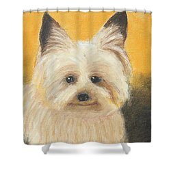 Terrier Shower Curtain