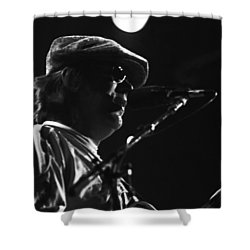 Terry Kath 1976 Shower Curtain by Ben Upham