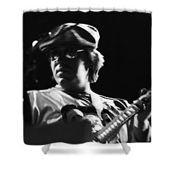 Terry Kath At The Cow Palace In 1976 Shower Curtain by Ben Upham