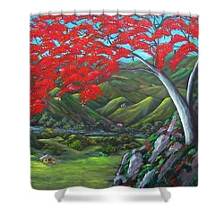 Tesoro De Mi Isla Shower Curtain