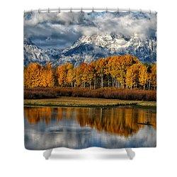 Teton Autumn Shower Curtain