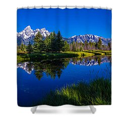 Teton Reflection Shower Curtain