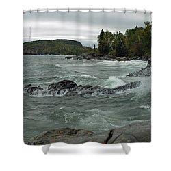 Tettegouche State Park Shower Curtain