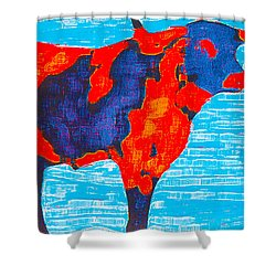 Texan Longhorn Shower Curtain