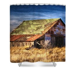 Texas Barn 1 Shower Curtain