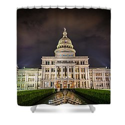 Texas Capitol Building Shower Curtain