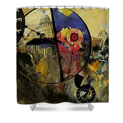 Texas  Shower Curtain by Corporate Art Task Force