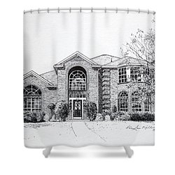 Texas Home 2 Shower Curtain by Hanne Lore Koehler