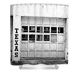 Texas Junk Co. Shower Curtain by Scott Pellegrin