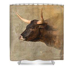 Texas Longhorn # 3 Shower Curtain