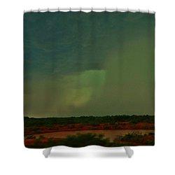 Texas Microburst Shower Curtain by Ed Sweeney