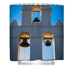 Texas Mission Shower Curtain by Inge Johnsson
