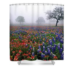 Texas Spring - Fs000559 Shower Curtain