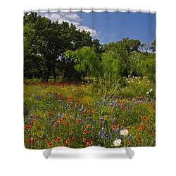 Texas Spring Spectacular Shower Curtain