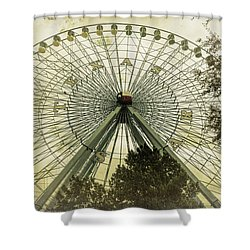 Texas Star Old Fashioned Fun Shower Curtain by Joan Carroll