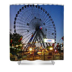 Texas State Fair Shower Curtain