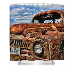 Shower Curtain featuring the photograph Texas Truck by Daniel Sheldon
