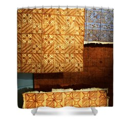Textile1 Shower Curtain