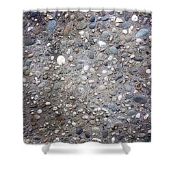 Textured Background Shower Curtain by Les Cunliffe