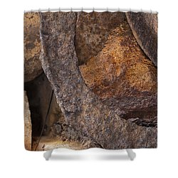 Textures 2 Shower Curtain