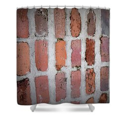 Shower Curtain featuring the photograph Textures And Colors  by John Glass