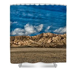 Textures Shower Curtain by Cat Connor