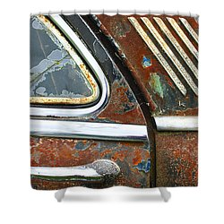 Textures Shower Curtain by Jean Noren