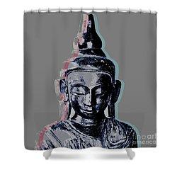 Thai Buddha #2 Shower Curtain