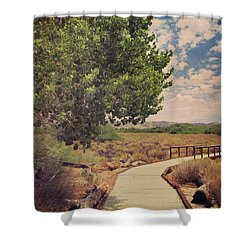 That Helping Hand Shower Curtain by Laurie Search