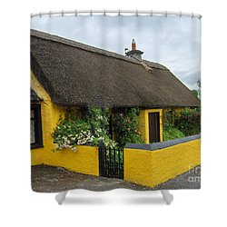Thatched House Ireland Shower Curtain
