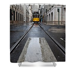The 28 Shower Curtain by Jorge Maia