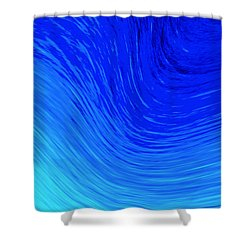 The 2nd Wave Shower Curtain