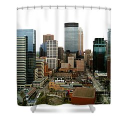 The 35th Floor Shower Curtain