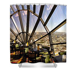 The 39th Floor - San Francisco Shower Curtain