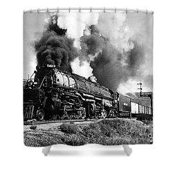 The 4019 Big Boy Shower Curtain