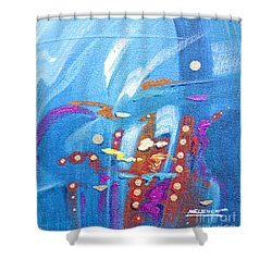 The Abyss Shower Curtain