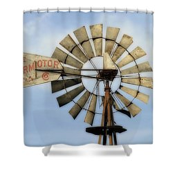 The Aermotor Company Shower Curtain