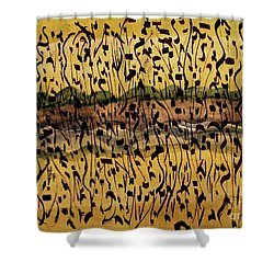The Air We Breathe Shower Curtain by Nancy Kane Chapman