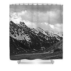 The Alaskan Range Shower Curtain