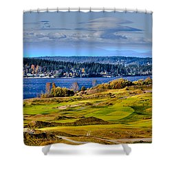 The Amazing Chambers Bay Golf Course - Site Of The 2015 U.s. Open Golf Tournament Shower Curtain