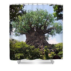 The Amazing Tree Of Life  Shower Curtain by Lingfai Leung