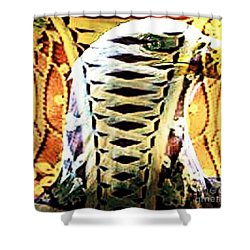 The American Bald Eagle Naughty Eagle 2 Shower Curtain