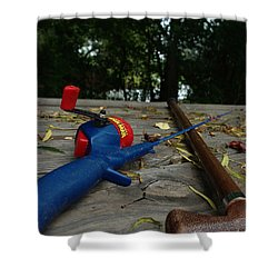 Shower Curtain featuring the photograph The Anglers by Peter Piatt